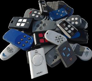 afstandsbedieningen Blok Security